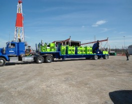 Fracking Trailer for Crane Works
