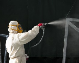 Spray painting Frames
